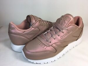 Reebok Classic Leather Pearl Shoes Rose Gold
