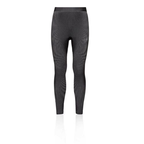 Odlo Mens Futureskin Warm Leggings Bottoms Pants Trousers Black Sports Outdoors