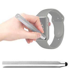 Silver-Touchscreen-Mini-Stylus-Pen-For-Use-W-Apple-Watch-Series-3