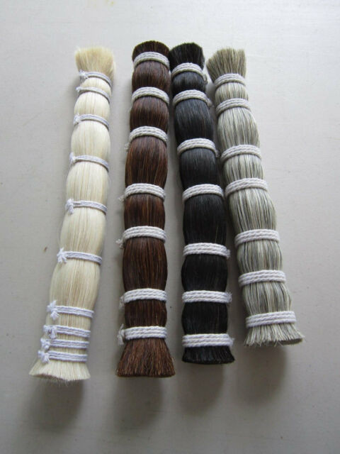 ONE POUND HORSE HAIR BUNDLE CRAFTS CHOOSE COLOR POW WOW