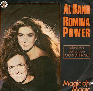 EUROVISION-single-1985-AL-BANO-amp-ROMINA-POWER-MAGIC-OH-MAGIC-7-inch-45-Umin