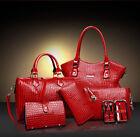 NEW Women 6PCS set shoulder bag satchel handbag fashion handbags Hot A