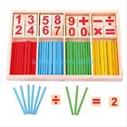 Kids Child Wooden Numbers Mathematics Early Learning Counting Educational Toy #A
