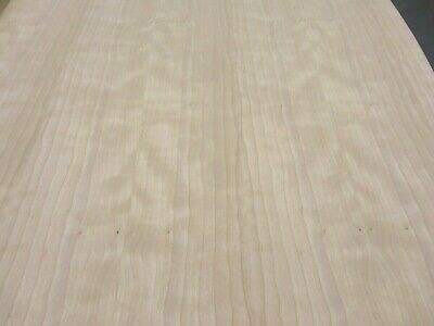 "Cherry Figured Ropey Curly wood veneer 24/"" x 96/"" with paper backer 1//40/"" thick"
