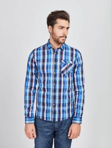 Mish Mash Monte Blue Check Shirt £19.99 rrp £50