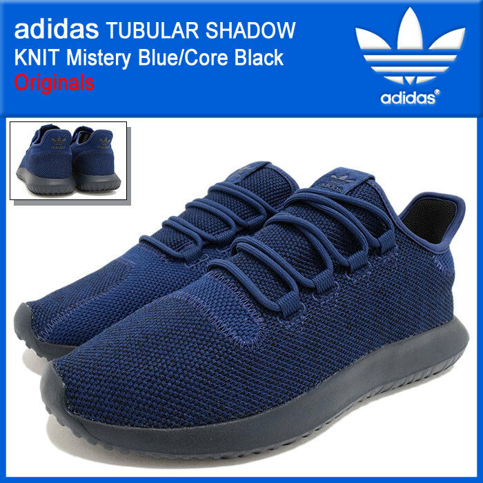 Adidas Originals W Tubular Shadow Knit Navy Blue Black BY9740 Women sz 7.5 Shoes