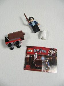 ✳️ LEGO 30110 Harry Potter /& White Owl Hedwig Minifigures Trolley Set New Sealed