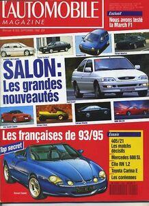 L-AUTOMOBILE-MAGAZINE-n-555-09-1992