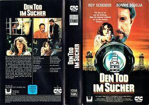 VHS-Den-Tod-im-Sucher-Roy-Scheider-Bonnie-Bedelia-Robert-Carradine-1990