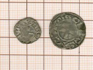 County Of Chartres Set Of One Denier And One Obole