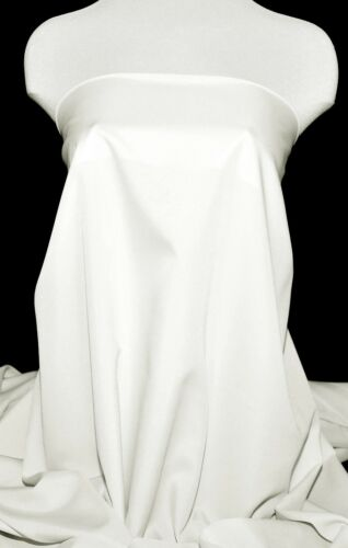 """PONGEE LINING FABRIC OFF WHITE 60/"""" BRIDAL HOME DECOR COSTUME CLOTHING  BTY"""