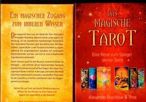 DAS-MAGISCHE-TAROT-Buch-und-Karten-in-Kartonbox-rar-selten-Sammler-TOP-Zustand