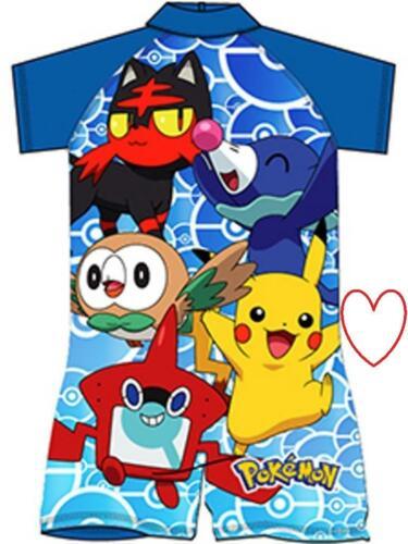 Toddler Pokemon Surf Suit Boys Holiday Summer Swim Pool