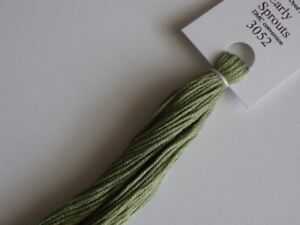 Over-dyed embroidery floss DMC 3052  20yards Early Sprouts