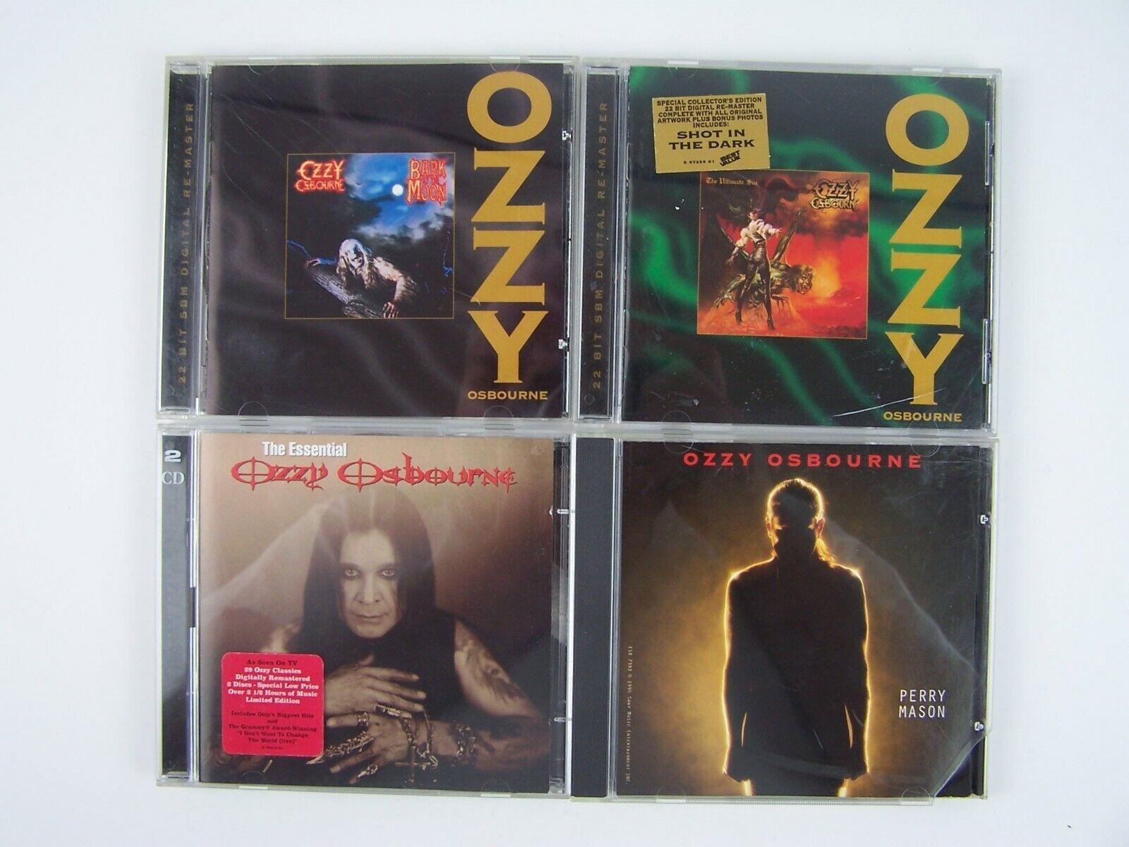 Ozzy Osbourne 4xCD Lot #2