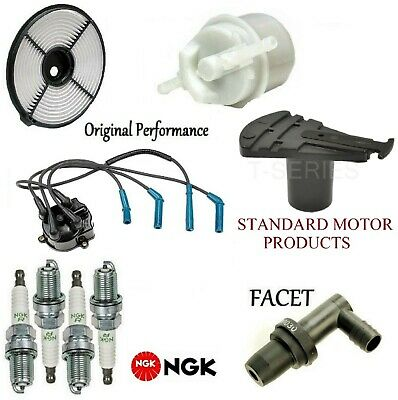 Tune Up Kit Air Fuel Filters Cap Rotor Wire for Toyota Tercel 1983-1985