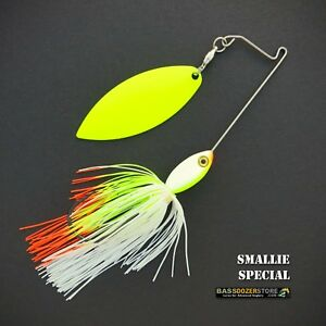 Bassdozer-spinnerbaits-SHORT-ARM-WILLOW-3-8-oz-SMALLIE-SPECIAL-spinner-bait-lure
