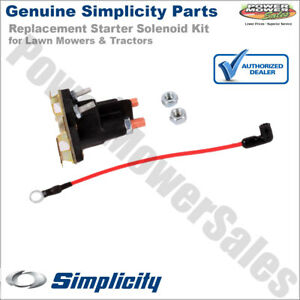 image is loading 1686981yp-1724815sm-simplicity-snapper-starter-solenoid -kit-for-