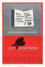 SUCH GOOD FRIENDS Movie POSTER 27x40 Dyan Cannon James Coco Jennifer ONeill Ken