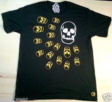 Calavera Camiseta Clem desgaste a uno Retro Vinilo L Para Hombre BNWT Skater Bmx Street Tee