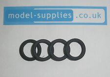 Corgi 266 Chitty Chitty Bang Bang reproduction set of 4 rubber tyres