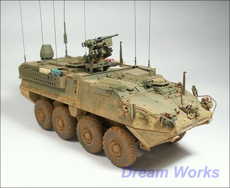 Award Winner Built AFV Club 1 35 M1130 Stryker Eight-Wheeled CV +PE +Rebuilt