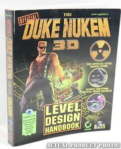 Official-Duke-Nukem-3D-Level-Design-Handbook-Paperback-1996-1st-Ed-No-Disk