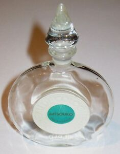 Vintage Guerlain Mitsouko Perfume Bottle/Cologne 50 ML, 1.7 OZ - 1950s - Empty