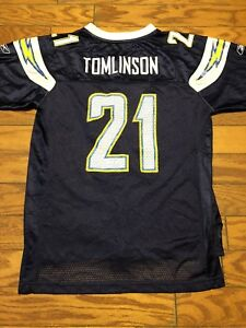 c4efe0bc Details about Vintage LaDainian Tomlinson #21 San Diego Chargers Jersey by  Reebok, Youth Large