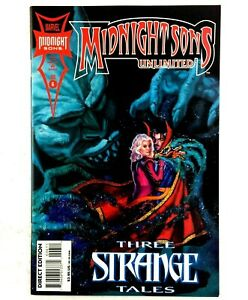 1994 Dr Strange Morbius Blade Ghost Rider Blaze Midnight Sons Unlimited No.6