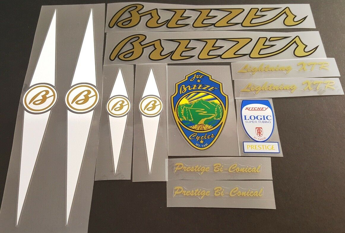 Breezer  Lightning XTR Bicycle Decal Set  (sku 11436)  to provide you with a pleasant online shopping