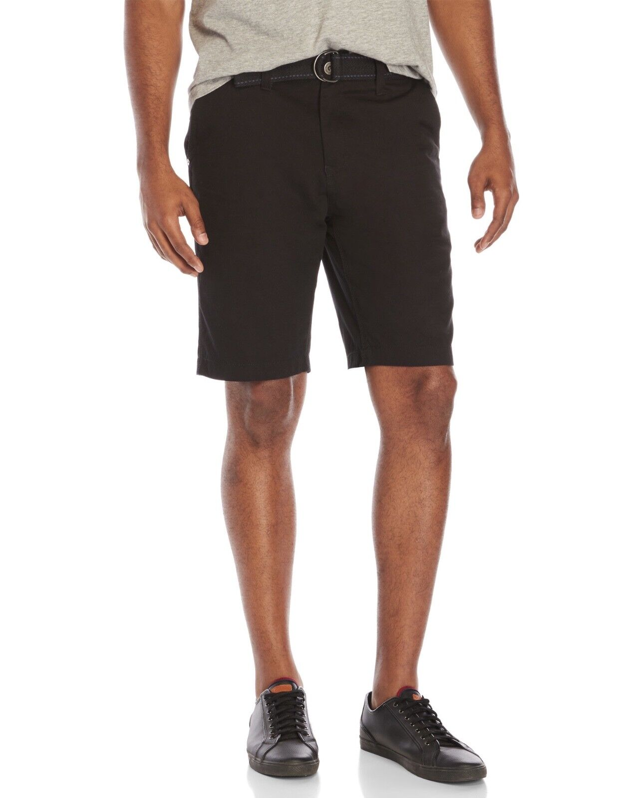 MICROS Belted Tailored Fit Shorts
