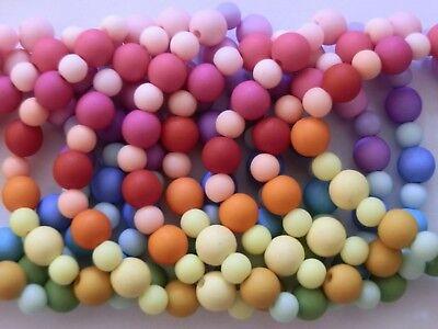Bracciali Elastici Ragazze Per Bambini Party Borsa Filler Star Rainbow Colorato Lotto-mostra Il Titolo Originale