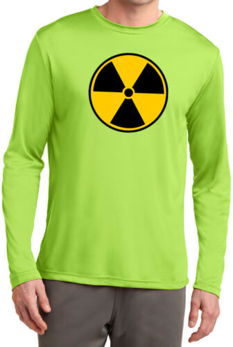 Buy Cool Shirts Radiation T-shirt Fallout Symbol Dry Wicking Long Sleeve