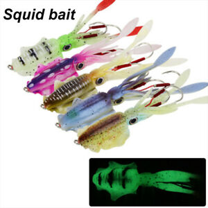 Fishing-Soft-Lure-20g-60g-150mm-Luminous-UV-Squid-Jig-Fishing-Lures-Octopus