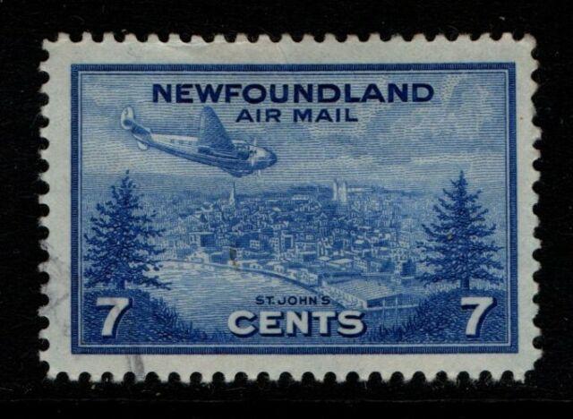 Canada Newfoundland 1943 7c Air SG291 Used