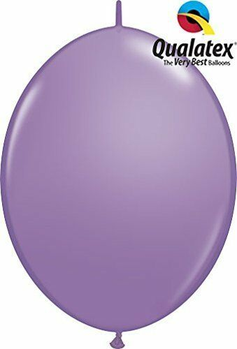 "12/"" Spring Lilac Quick Link Latex Balloons 50pk"