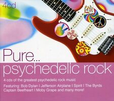 Pure... Psychedelic Rock [Digipak] by Various Artists (CD, Jun-2011, 4 Discs, Sony Music)