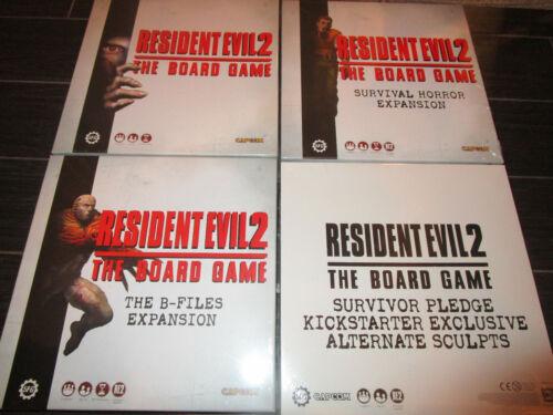 RESIDENT EVIL 2 Full Survivor Pledge Kickstarter Exclusive Board Game KS