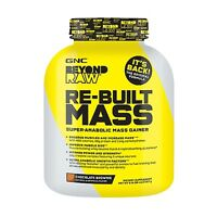 Gnc Beyond Raw Re-built Mass Gainer Whey Protein 6 Lb Exp 2018