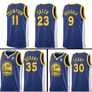 new concept 2b163 98af8 Details about BASKETBALL Kevin Durant Golden State Warriors Jersey Stephen  Curry Klay Thompson