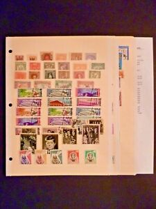 Worldwide-Lot-of-140-Stamps-U-V-Countries-See-Description-and-Images
