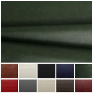 HEAVY-FEEL-FAUX-LEATHER-LEATHERETTE-VINYL-PVC-UPHOLSTERY-MATERIAL-FABRIC