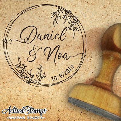 Schnäppchen ** Holz Stempel  Hochzeit Wir werden heiraten Hochzeit Einladung