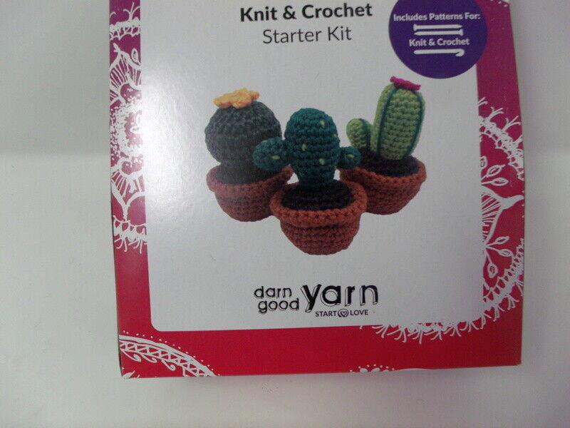 Amazon.com: Ruby The Cactus Crochet Kit an Amigurumi DIY Craft ... | 600x800