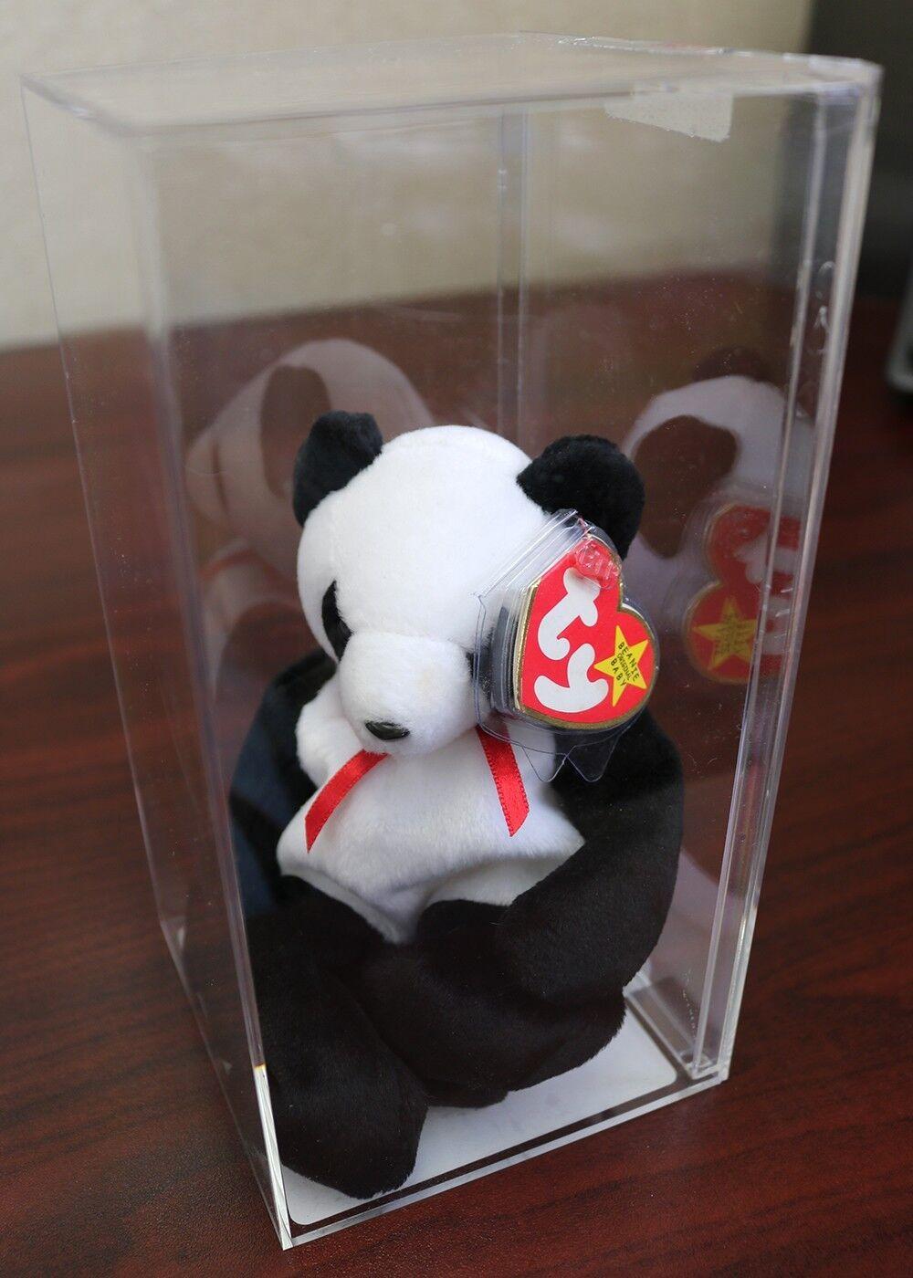 der panda beim vermögen - ty beanie baby - und pensionierte w   fehler