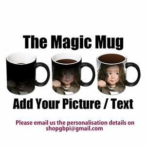 Personalised-Colour-Changing-Coffee-Mug-Cup-YOUR-PHOTO-TEXT-Magic-Mug-WOW