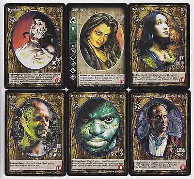 C Vampire Eternal Struggle VTES Jyhad G2//G3 7x Followers of Set Vampires