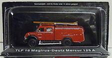 Feuerwehr TLF 16 Magirus-Deutz Mercur 125 A, 1:72 , Atlas ,Restposten,  Neuware