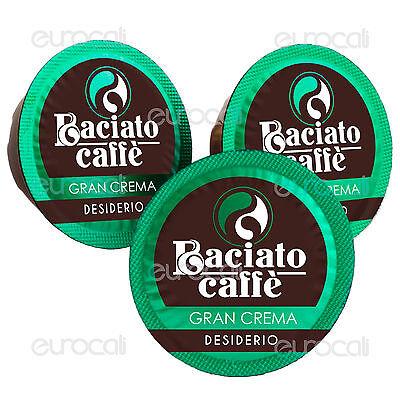 100 Capsule Baciato Caffè Gran Crema Cialde Compatibili LAVAZZA A MODO MIO